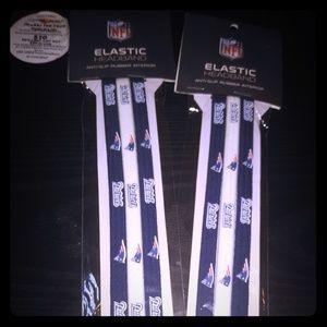 BOGO New England Patriots Elastic Headbands pack